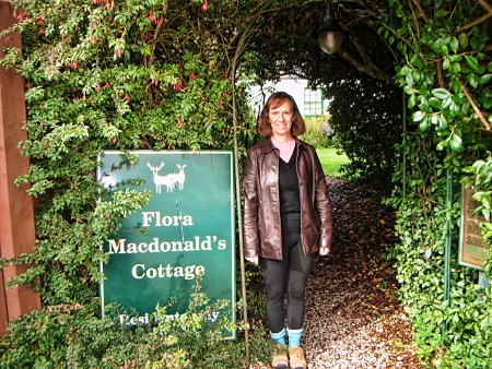 Janet at Flora Macdonalds Cottage